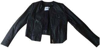 Bruuns Bazaar Black Leather Leather Jacket for Women