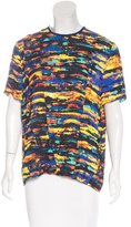 Cédric Charlier Printed Short Sleeve Top