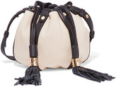 See by Chloe Vicki textured-leather bucket bag