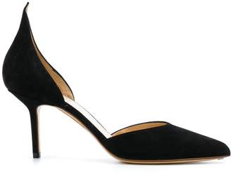Francesco Russo pointed toe d'orsay pumps