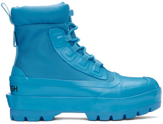 Ambush Blue Converse Edition CTAS Duck Ankle Boots