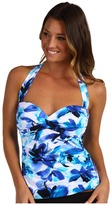 Miraclesuit Different Strokes Barcelona Tankini (Blue) - Apparel