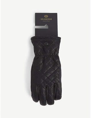 GOLDBERGH Nishi waterproof leather ski gloves