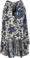 Derek Lam 10 Crosby tasseled floral blouse