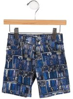 Paul Smith Boys' Printed Denim Shorts w/ Tags