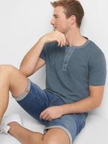 Gap Soft short sleeve henley