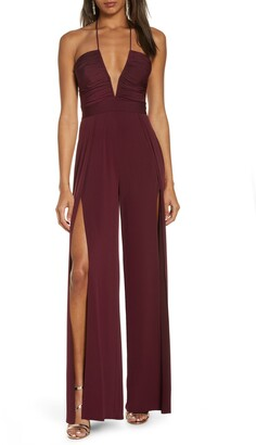 Katie May Never Cross Split Leg Jumpsuit