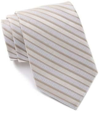 Calvin Klein Bold Stripe Silk Tie