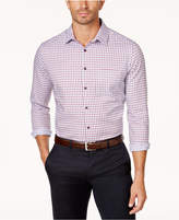 Tasso Elba Men's Long-Sleeve Checked Shirt, Only at Macy's
