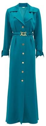 Dodo Bar Or Tamara Belted Shirt Dress - Blue
