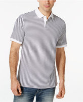 Club Room Performance UV Protection Short-Sleeve Stripe Polo, Only at Macy's