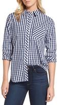 Vineyard Vines Women's Seabreeze Gingham Pocket Shirt