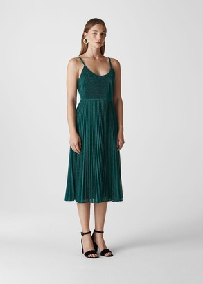 Regina Sparkle Pleated Dress