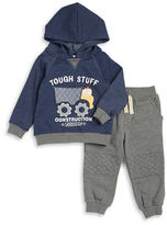 Kids Headquarters Boys 2-7 Tough Stuff Hoodie and Sweatpants Set