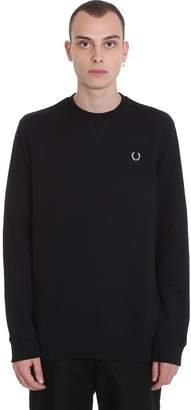 Fred Perry Sweatshirt In Black Cotton