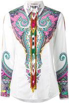 Etro Persian print shirt - women - Cotton/Spandex/Elastane - 48