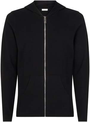 Sandro Knitted Zip-Up Hooded Cardigan