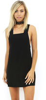 West Coast Wardrobe Retro Vixen Woven Dress in Black