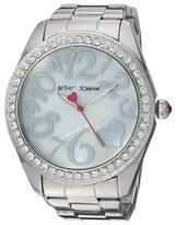 Betsey Johnson BJ00249-38 - Silver Boyfriend Watches