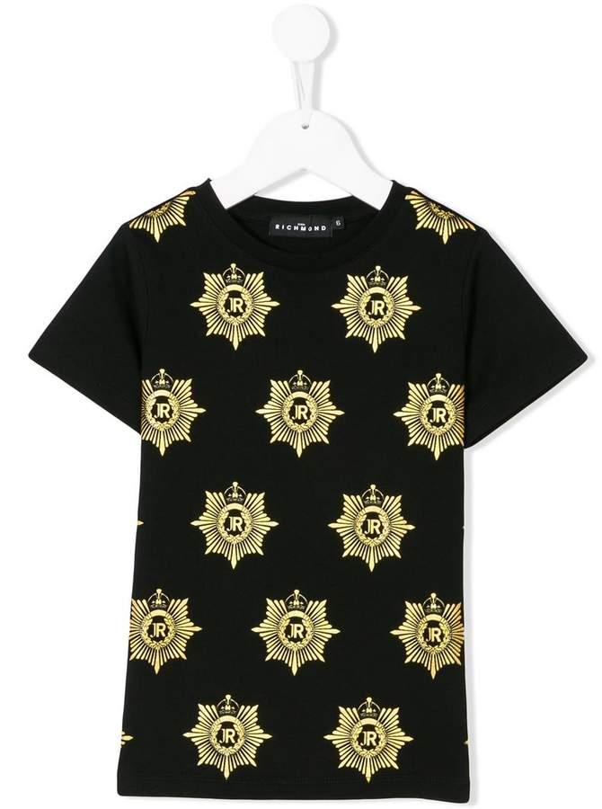 John Richmond Kids プリント Tシャツ