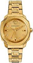 Versace Women's VQD060015 Dylos Analog Display Swiss Quartz -Plated Watch