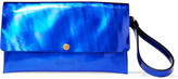 Marni Iridescent leather clutch