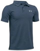 Under Armour Boys' Striped Tech Polo Shirt - Sizes S-XL