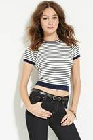 Forever 21 Striped Sweater Top