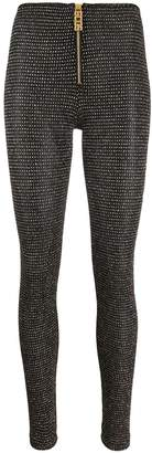 GCDS Diamonds stud detail leggings