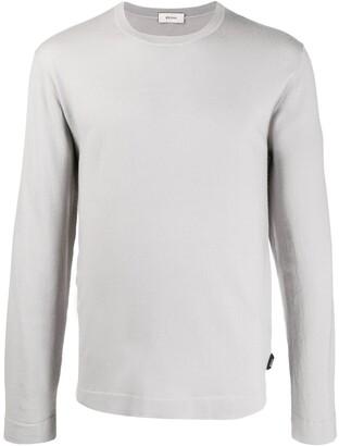 Ermenegildo Zegna Wool Long Sleeve Jumper