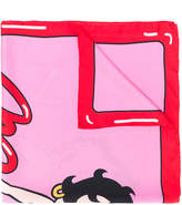 Moschino Betty Boop scarf