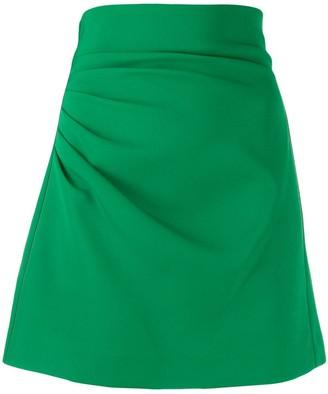 P.A.R.O.S.H. Pleated Short Skirt