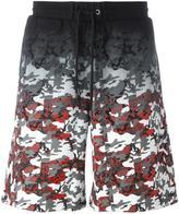 Marcelo Burlon County of Milan camouflage print track shorts - men - Cotton - S