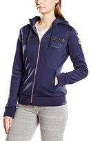 Gaastra Women's Regular Fit Hooded Long Sleeve Sweatshirt Blue Blau (NAVY F40)