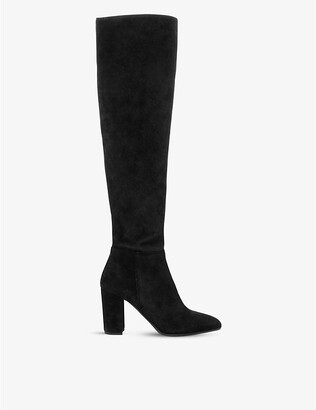 Dune Selsie suede over-the-knee boots
