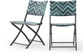 2 x Maui outdoor bistro chairs
