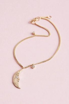 Anna + Nina Moonlight Moon Bracelet
