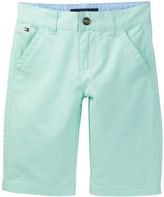 Tommy Hilfiger Chest Twill Short (Big Boys)