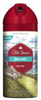 Old Spice Fresh Collection Belize Scent Men's Body Spray 4 Oz by