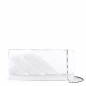 Paradox London Pink Womens DARLA Clutch Off-White (Ivory)
