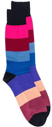 Paul Smith striped mid-calf socks