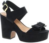 Asos HIGH FIVE Platform Bow Sandals