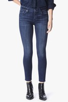 7 For All Mankind The Ankle Skinny In Bordeaux Broken Twill