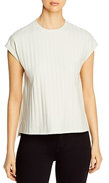 Eileen Fisher Petites Ribbed Crewneck Top