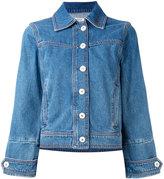 Ganni - denim jacket - women - Cotton - 36