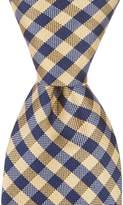 "Class Club 50"" Checked Tie"