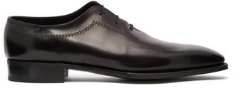John Lobb Holt Leather Oxford Shoes - Mens - Black