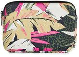 Marc Jacobs Neoprene Palm-Print Mini Tablet Case