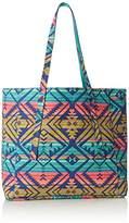 Lulu Printed Tote Handbag