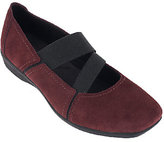 Clarks As Is Suede Gored Mary Janes - Haydn Juniper